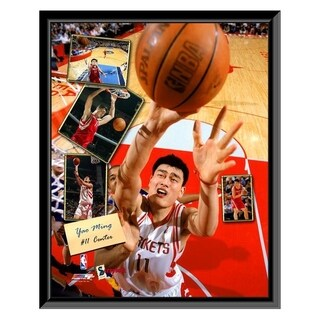 NBA Yao Ming 2005 Scrapbook Framed Photo Officially Licensed
