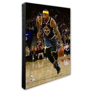 NBA DeMarcus Cousins 2018 19 Action Stretched Canvas Officially Licensed