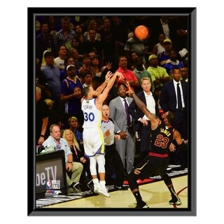 NBA Stephen Curry Game 4 Of The 2018 NBA Finals Framed Photo Officially Licensed