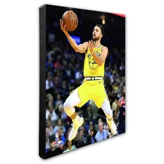 NBA Stephen Curry 2018 19 Action Stretched Canvas Officially Licensed