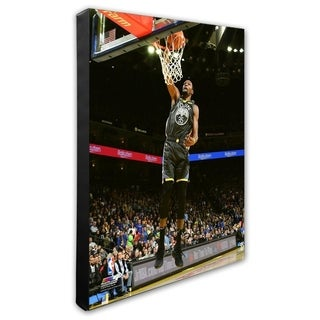 NBA Kevin Durant 2018 19 Action Stretched Canvas Officially Licensed