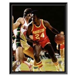 NBA Moses Malone 1977 Action Framed Photo Officially Licensed