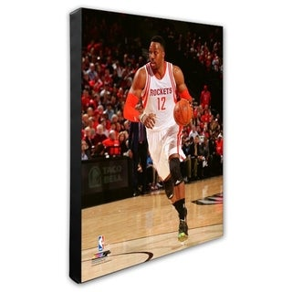 NBA Dwight Howard 2015 16 Action Stretched Canvas Officially Licensed