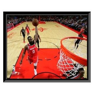 NBA James Harden 2018 19 Action Framed Photo Officially Licensed