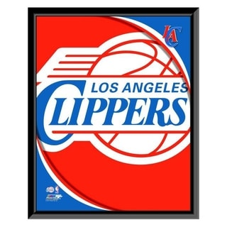 NBA Los Angeles Clippers Team Logo Framed Photo Officially Licensed