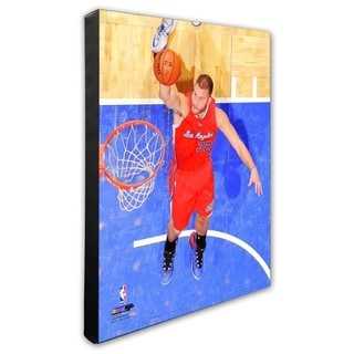 NBA Blake Griffin 2014 15 Action Stretched Canvas Officially Licensed