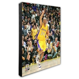 NBA Kobe Bryant 2008 09 Action Stretched Canvas Officially Licensed