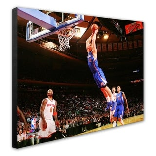 NBA Blake Griffin 2013 14 Action Stretched Canvas Officially Licensed