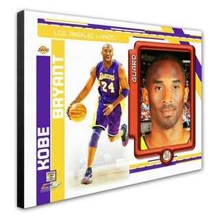 NBA Kobe Bryant 2010 11 Studio Plus Stretched Canvas Officially Licensed
