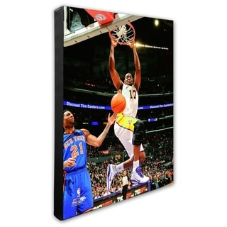 NBA Andrew Bynum 2010 11 Action Stretched Canvas Officially Licensed