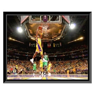 NBA Kobe Bryant Game One Of The 2009 10 NBA Finals 2 Framed Photo Officially Licensed