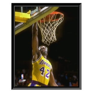 NBA James Worthy Action Framed Photo Officially Licensed