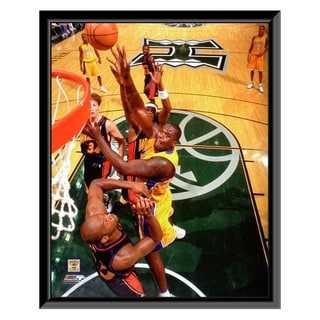 NBA Shaquille O Neal Action Framed Photo Officially Licensed
