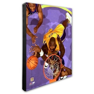 NBA Shaquille O Neal Action Stretched Canvas Officially Licensed
