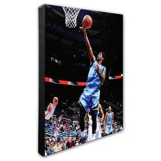 NBA O J Mayo 2011 12 Action Stretched Canvas Officially Licensed