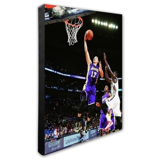 NBA Jeremy Lin 2014 15 Action Stretched Canvas Officially Licensed