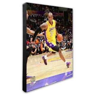 NBA Kobe Bryant 2013 14 Action Stretched Canvas Officially Licensed