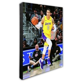 NBA Kyle Kuzma 2017 18 Action Stretched Canvas Officially Licensed