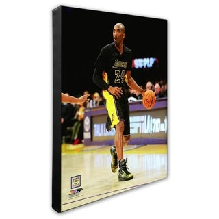 NBA Kobe Bryant 2014 15 Action Stretched Canvas Officially Licensed