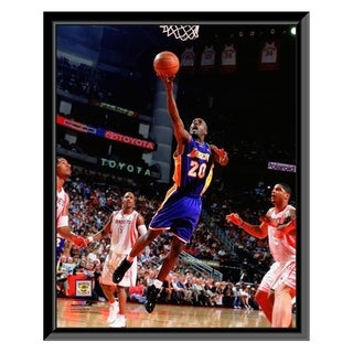 NBA Gary Payton 2003 04 Action Framed Photo Officially Licensed