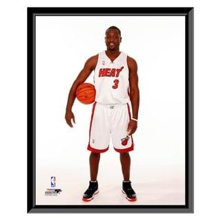 NBA Dwyane Wade 2009 10 Posed Framed Photo Officially Licensed