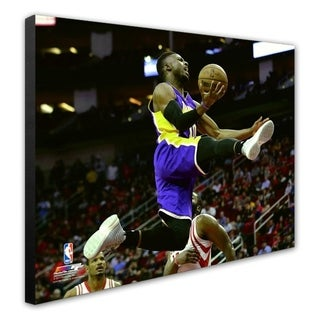 NBA David Nwaba 2016 17 Action Stretched Canvas Officially Licensed