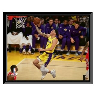 NBA Lonzo Ball 2018 19 Action Framed Photo Officially Licensed
