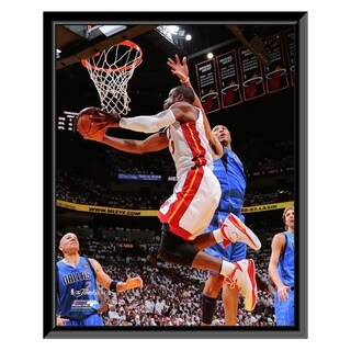 NBA Dwyane Wade Game One Of The 2011 NBA Finals Action 4 Framed Photo Officially Licensed