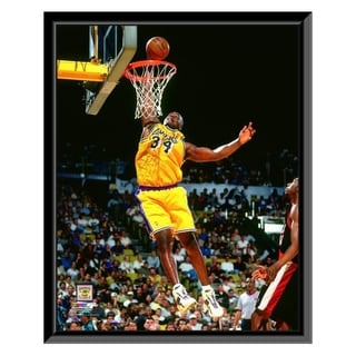 NBA Shaquille O Neal 1997 98 Action Framed Photo Officially Licensed