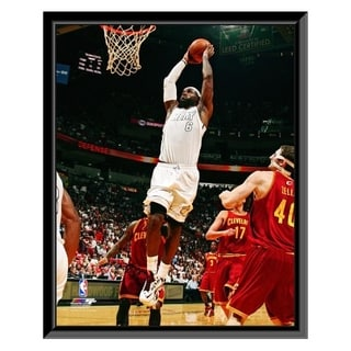 NBA Lebron James 2012 13 Action Framed Photo Officially Licensed