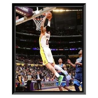 NBA Kyle Kuzma 2017 18 Action Framed Photo Officially Licensed