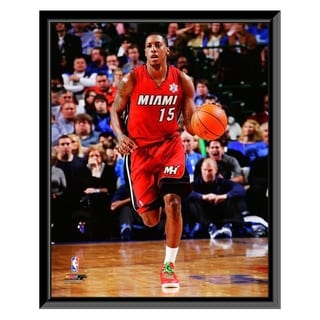 NBA Mario Chalmers 2011 12 Action Framed Photo Officially Licensed
