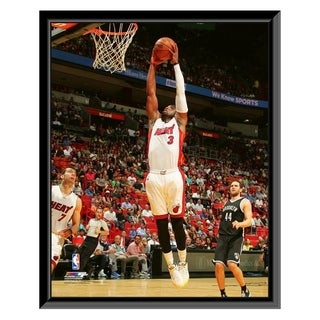 NBA Dwyane Wade 2015 16 Action Framed Photo Officially Licensed