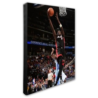 NBA Luol Deng 2014 15 Action Stretched Canvas Officially Licensed