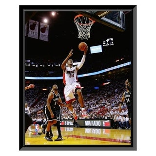 NBA Ray Allen 2013 14 Playoff Action Framed Photo Officially Licensed