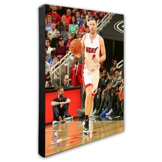 NBA Beno Udrih 2016 17 Action Stretched Canvas Officially Licensed