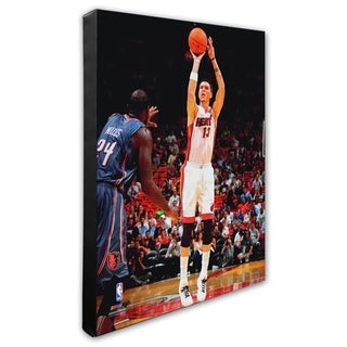 NBA Mike Miller 2010 11 Action Stretched Canvas Officially Licensed