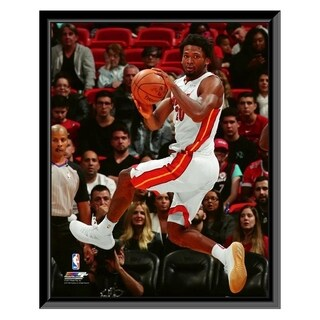 NBA Justise Winslow 2017 18 Action Framed Photo Officially Licensed