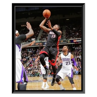 NBA Mario Chalmers 2013 14 Action Framed Photo Officially Licensed