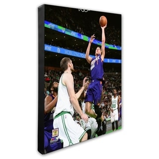 NBA Devin Booker 2016 17 Action Stretched Canvas Officially Licensed