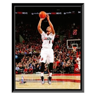 NBA Damian Lillard 2014 15 Action Framed Photo Officially Licensed