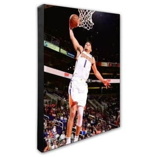 NBA Devin Booker 2018 19 Action Stretched Canvas Officially Licensed