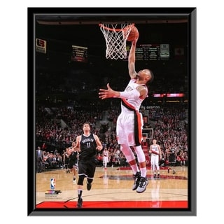 NBA Damian Lillard 2015 16 Action Framed Photo Officially Licensed