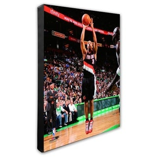 NBA Andre Miller 2010 11 Action Stretched Canvas Officially Licensed