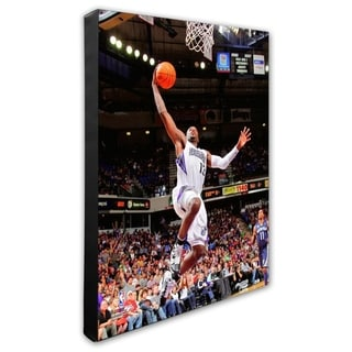 NBA Tyreke Evans 2010 11 Action Stretched Canvas Officially Licensed