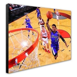 NBA Ben McLemore 2013 14 Action Stretched Canvas Officially Licensed