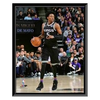 NBA De Aaron Fox 2017 18 Action Framed Photo Officially Licensed