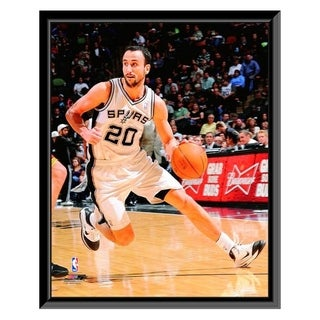 NBA Manu Ginobili 2010 11 Action Framed Photo Officially Licensed