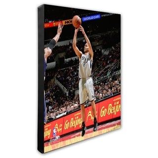 NBA Tony Parker 2013 14 Action Stretched Canvas Officially Licensed