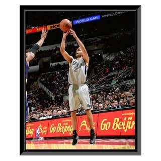 NBA Tony Parker 2013 14 Action Framed Photo Officially Licensed